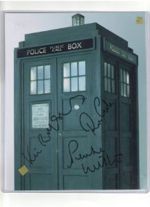 Phil Collinson from Dr Who signed Autograph 10 by 8 